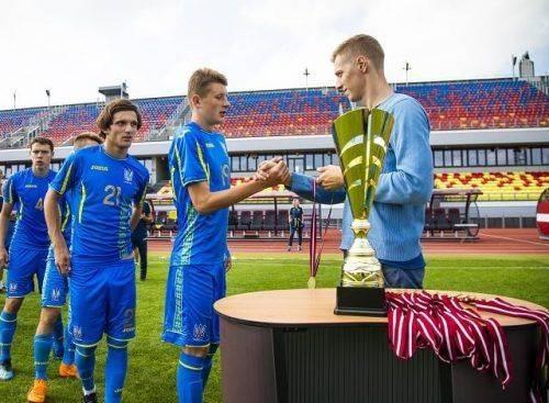 Черкаський футболіст у складі збірної України виборов перемогу на турнірі у Латвії