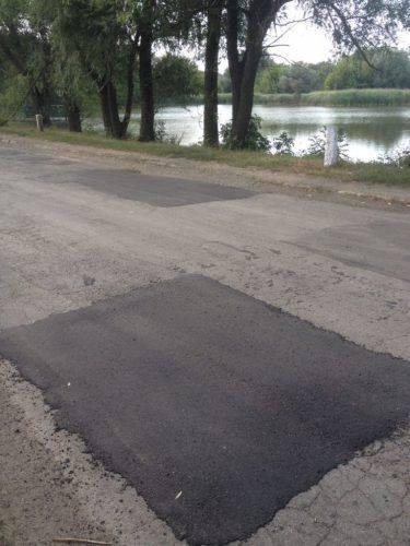 У селі на Шполянщині відремонтували дорогу на трьох вулицях (фото)
