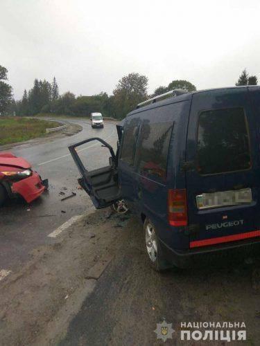 Черкащанин спричинив ДТП на Львівщині, є постраждалі (фото)