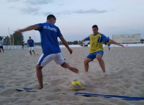У Черкасах відбудеться завершальний тур чемпіонату області з пляжного футболу