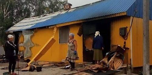 На Черкащині спалили капличку московського патріархату
