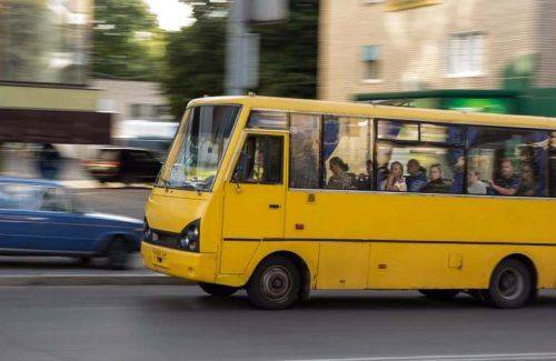 Автобус Городище-Київ захопили троє озброєних чоловіків