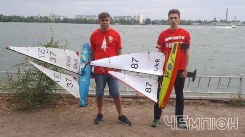 Черкаські спортсмени здобули нагороди на Кубку України з судномодельного спорту (фото)
