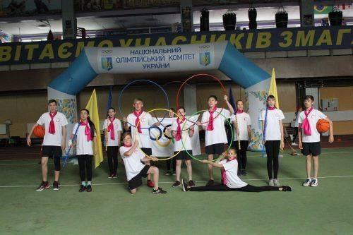 Черкаські школярі змагаються у всеукраїнському спортивному проекті