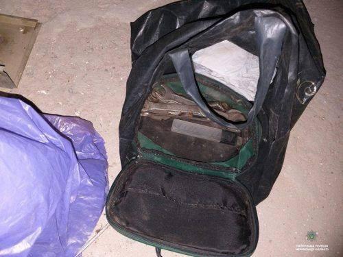 У Черкасах патрульні затримали крадія кабелів (фото)