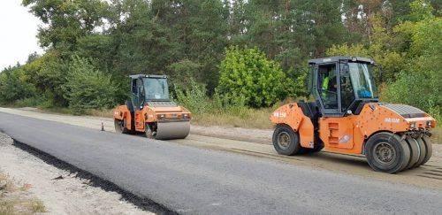 Дорогу в Мошнах обіцяють відремонтувати до кінця року (фото)