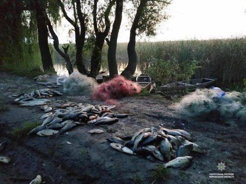 Черкаські браконьєри наловили риби майже на 32 тис. грн (фото)