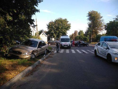 У Черкасах унаслідок ДТП постраждала вагітна жінка та пенсіонерка