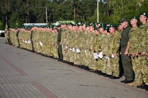 В Оршанці відбувся випуск прикордонників (фото)
