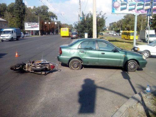 У Черкасах по вулиці Смілянській сталася ДТП з постраждалими (фото)
