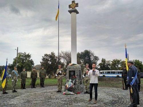 На Одещині відкрили перший військовий меморіал за проектом черкащанина (фото)