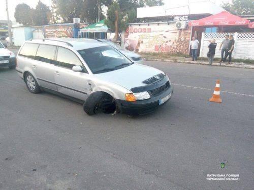 У Черкасах затримали п'яного водія, який три роки перебував у розшуку (фото)