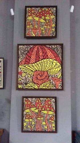 Вишукані витинанки та кераміка: у Черкасх відбулося відкриття виставки унікальних експонатів (фото)