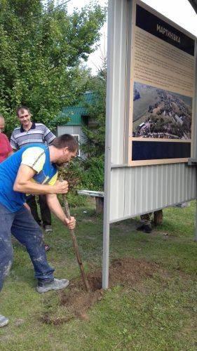 У селі на Канівщині встановили нові автобусні зупинки