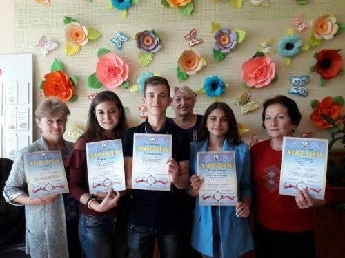 Міськрада Львова відзначила трьох шполянських школярів