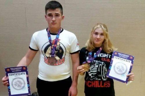 Черкаські спортсмени вибороли медалі Чемпіонату світу з греплінгу (відео)