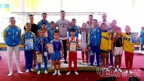 Гімнасти Черкащини здобули нагороди на Відкритому чемпіонаті