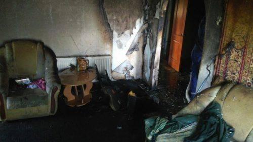 На Чигиринщині через згубну звичку пенсіонер згорів у власній оселі