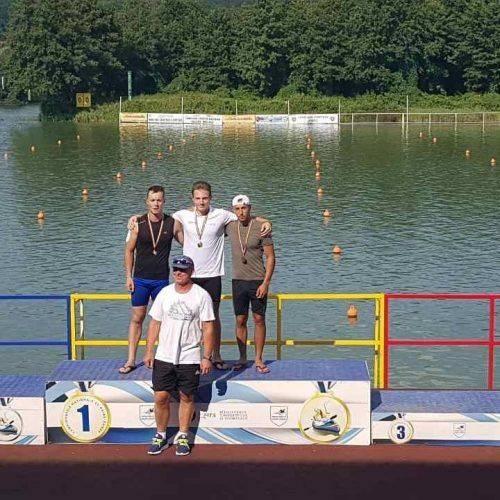 Студент уманського вишу здобув перемогу на чемпіонаті Румунії з веслування на байдарках і каное (фото)