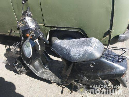 В Умані шукають водія мопеда, який наїхав на пішохода (фото)