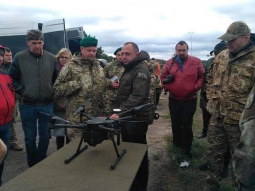 На полігоні поблизу Черкас розпочалися масштабні навчання безпілотної авіації