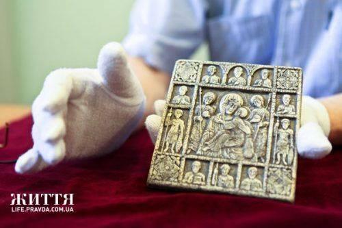 На Черкащині знайшли унікальну ікону, яка могла належати Володимиру Мономаху