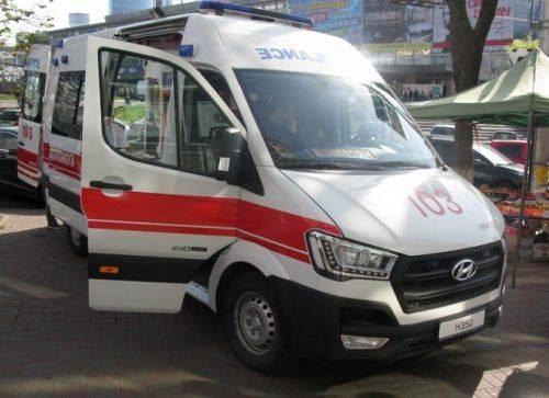 У Черкасах розпочато виробництво автомобілів швидкої допомоги