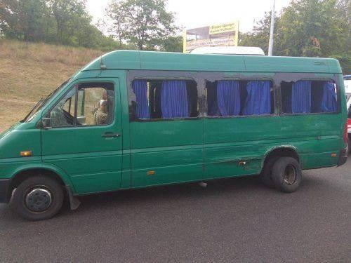 На Черкащині сталася ДТП між двома мікроавтобусами (фото)