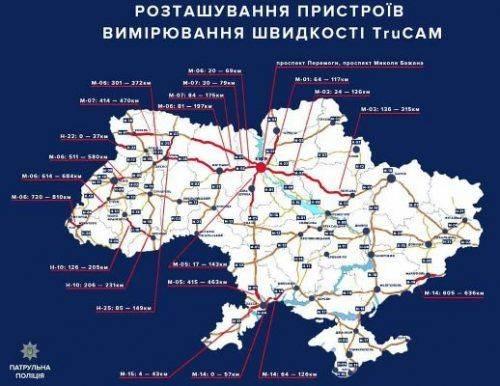 Контроль за швидкістю на дорогах: Поліцію Черкащини обділили новими радарами