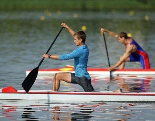 В Умані спортсмени змагаються з веслування на байдарках і каное
