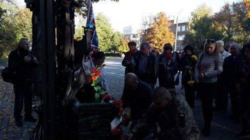 Черкащани вшанували захисників України (фото, відео)