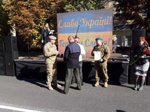 До Дня захисника України у Черкасах відбулося нагородження військових (фото)