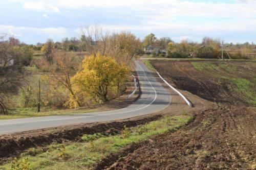 На Уманщині відремонтували дорогу між двома селами
