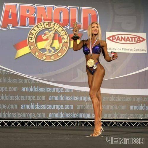 Черкаські спортсмени перемогли на змаганнях Elite Pro «Арнольд Класік Європа» (фото)