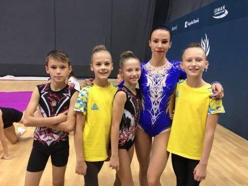 Черкаські гімнасти вибороли нагороди на чемпіонаті Азербайджану