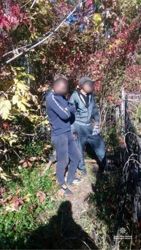 У Черкасах вандали розкопали поховання на старому цвинтарі (фото)