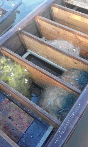 У Сулинському заказнику природоохоронці вилучили майже 100 кг незаконно добутої риби