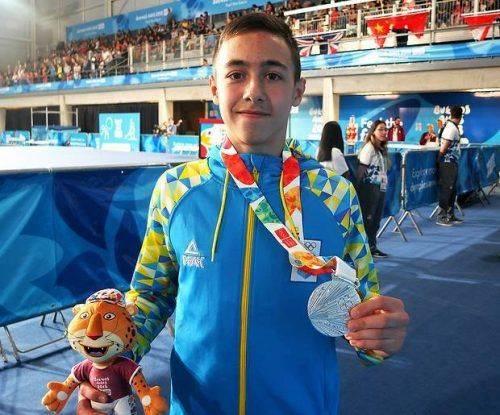 Гімнаст з Черкащини виборов срібло на ІІІ літніх Юнацьких Олімпійських іграх