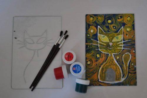 Черкащани опановуватимуть техніку малювання на склі