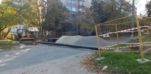 У Черкасах обмежено рух на одній із центральних вулиць (відео)