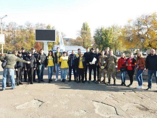 Черкащани долучилися до всеукраїнської акції проти наркотиків (фото)