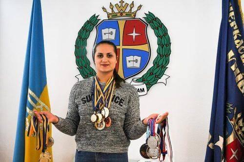 Студентка черкаського вишу увійшла до трійки кращих на чемпіонаті світу