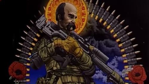 Кобзар-майданівець та солдат: черкащанам презентували сучасного Шевченка (відео)