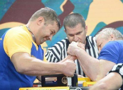 Черкаський спортсмен став чемпіоном світу з армспорту