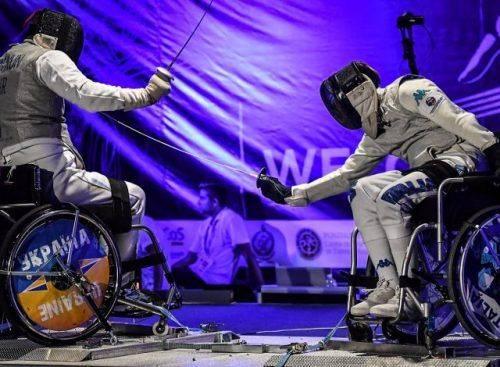 Черкаські спортсмени здобули нагороди на чемпіонаті України з фехтування на візках