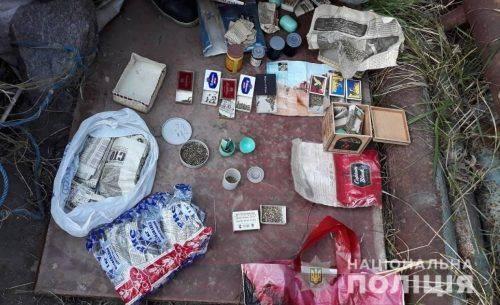 На Черкащині затримали чоловіка, який займався збутом коноплі (фото, відео)