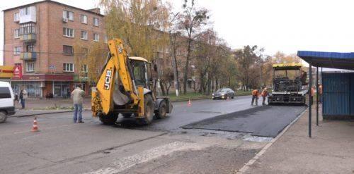 У Смілі завершується ремонт дороги на вулиці Незалежності (відео)
