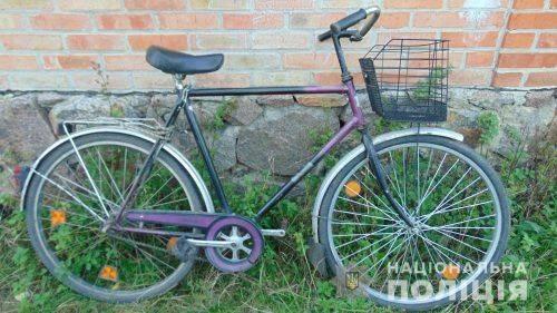 На Черкащині затримали крадія велосипедів