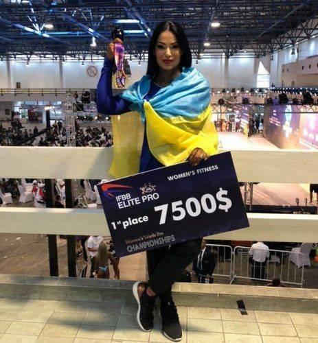 Черкащанка перемогла на чемпіонаті світу з фітнесу