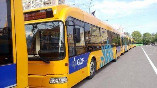 Сьогодні у Черкасах буде змінено рух тролейбусів